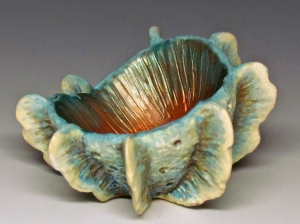 Frilled Mini Vessel